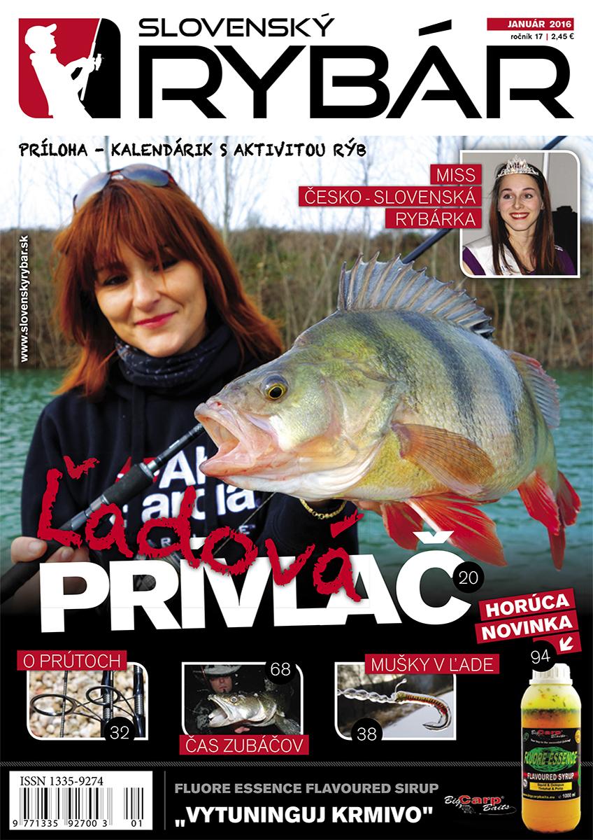 Aktuálne číslo Slovenského RYBÁRA - časopis o rybárčení